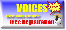 Voices Register For Free Here